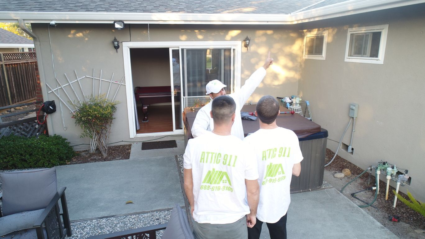 Alameda Attic Cleaning Attic 911 Services